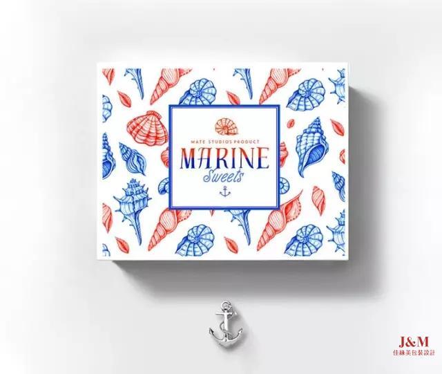 這么漂亮時尚的包裝盒設計,讓人沒有理由不買!